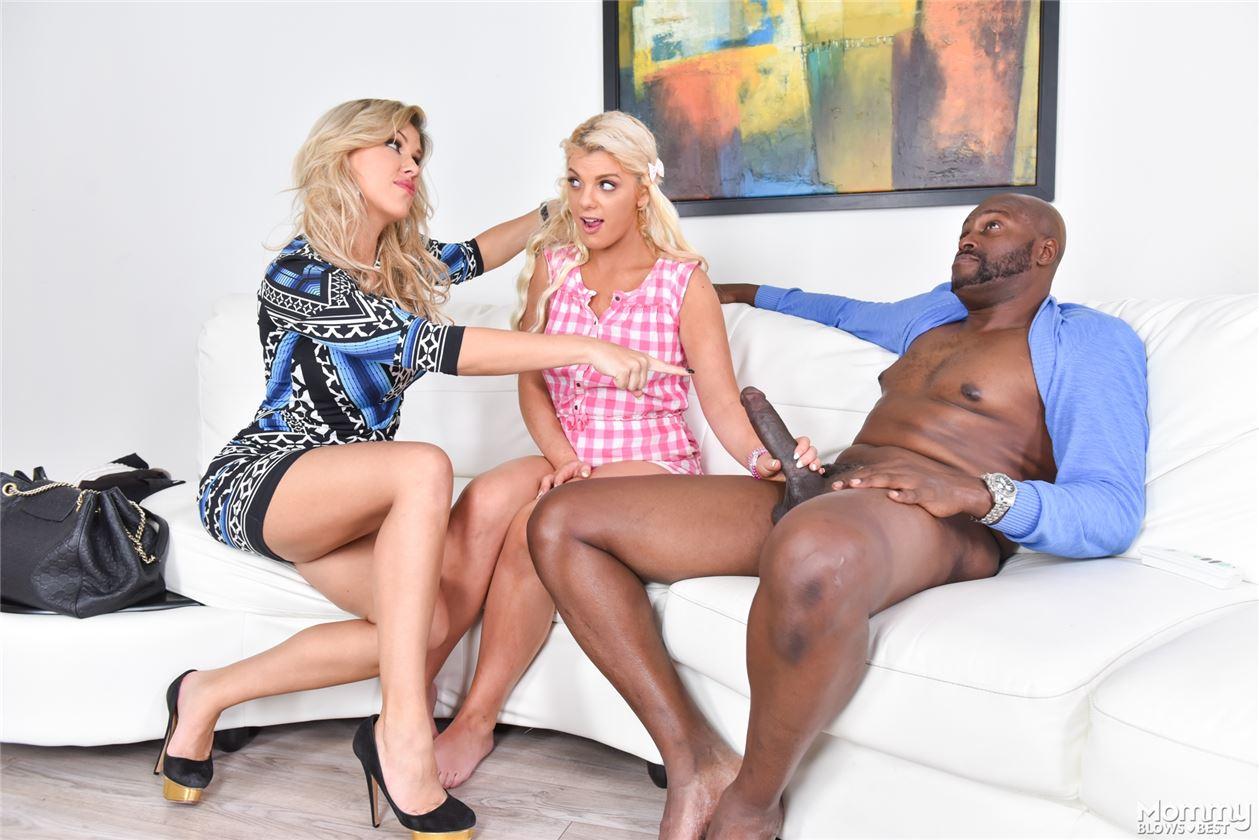 Большой негритянский секс трахает