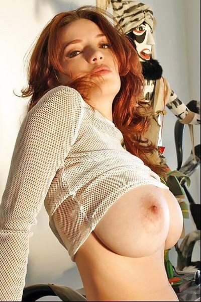 Порно фото рыжых женщин