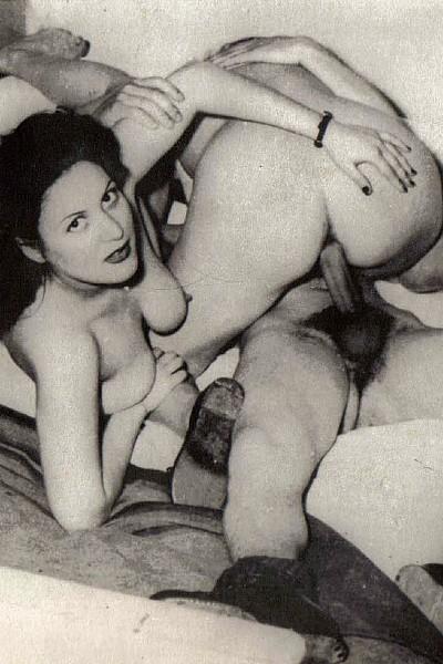 Винтажный групповой секс